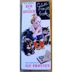 Gåsemorboka - Alle barns rim og regler - Alf Prøysen