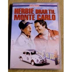 Herbie drar til Monte Carlo (DVD)