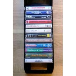 Oppbevaringsenhet for kassetter med mange kassetter