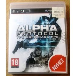 Playstation 3: Alpha Protocol: The Espionage RPG (Obsidian)