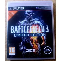 Playstation 3: Battlefield 3 - Limited Edition (EA Games)