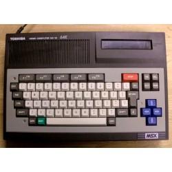 MSX: Toshiba HX-10 64K datamaskin