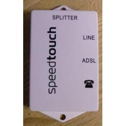 SpeedTouch Splitter: ADSL over POTS/ISDN universal splitter