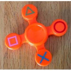 Fidget Spinner (oransje)