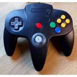 Nintendo 64: Sort håndkontroll