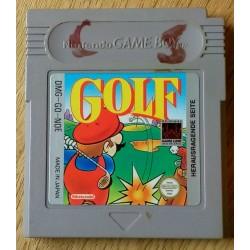 Game Boy: Mario Golf (Nintendo)