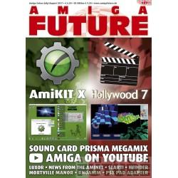 Datablad: Amiga Future: Juli/August 2017 - Nr. 127 med CD