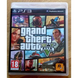 Playstation 3: Grand Theft Auto Five 5 (R)