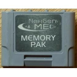 Nintendo 64: NexGen 4 MB Memory Pak