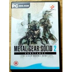 Metal Gear Solid 2: Substance - A Hideo Kojima Game (Konami)