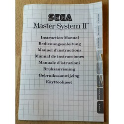 SEGA Master System II: Instruction Manual