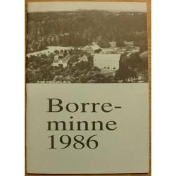 Borreminne: Årsskrift 1986