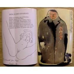 Etiketter: 2 x Harald Sverdrup erotiske vinetiketter (ubrukt)
