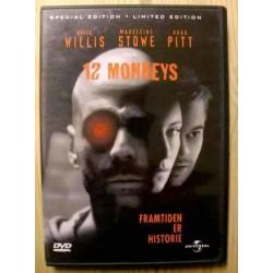 Bruce Willis, Brad Pitt: 12 Monkeys