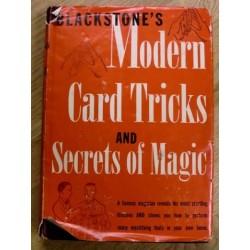 Blackstone's Modern Card tricks and Secrets of Magic