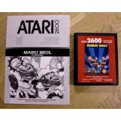 Mario Bros. med manual