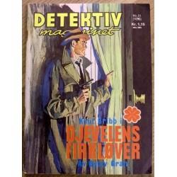 Detektivmagasinet: Nr. 11 - 1096 - 3. november 1965