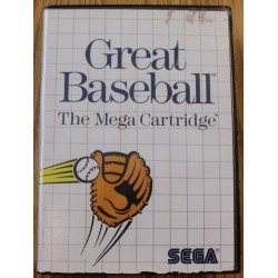 SEGA Master System: Great Baseball
