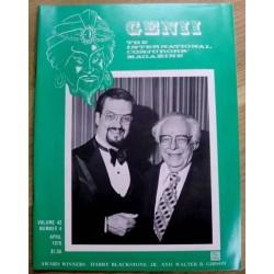 Genii: The Conjuror's Magazine: 1979 - April
