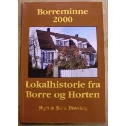 Borreminne 2000: Lokalhistorie fra Borre og Horten