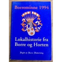 Borreminne 1994: Lokalhistorie fra Borre og Horten