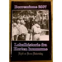 Borreminne 2007: Lokalhistorie fra Borre og Horten