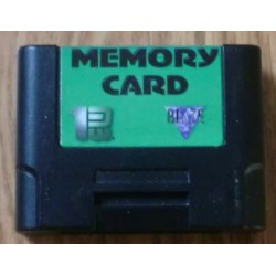 Nintendo 64: Ultra 64 Memory Card