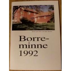 Borreminne 1992: Lokalhistorie fra Borre og Horten