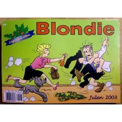Blondie: Julen 2003