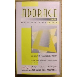 Amiga: Adorage 2.0 AGA - Instruksjonsfilm på VHS
