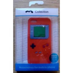 Mobil: iPhone 5: Silicone Case - Game Boy