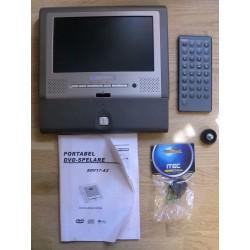 Next Base: SDV17-A3 DVD-spiller med skjerm