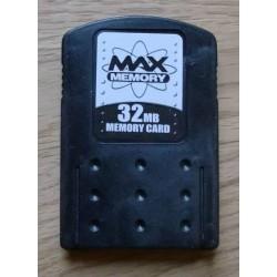 Max Memory 32 MB Memory Card