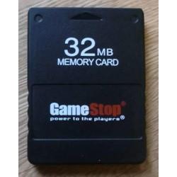 GameStop 32MB Memory Card