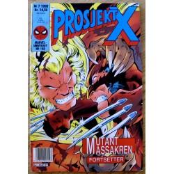 Marveluniverset: 1990 - Nr. 7 - Prosjekt X
