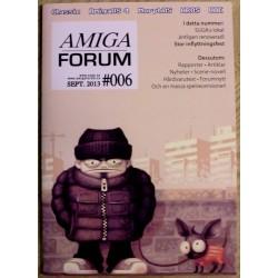Datablad: Amiga Forum: Nr. 6 - 2013 - September