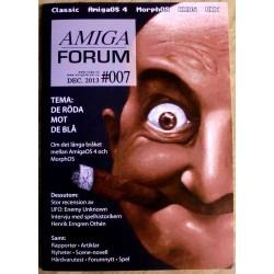 Datablad: Amiga Forum: Nr. 7 - 2013 - Desember