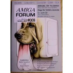 Datablad: Amiga Forum: Nr. 8 - 2014 - Mars