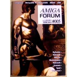 Datablad: Amiga Forum: Nr. 5 - 2013 - Juni