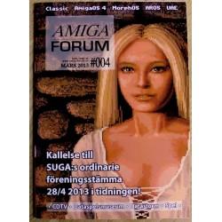 Datablad: Amiga Forum: Nr. 4 - 2013 - Mars