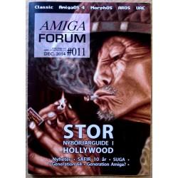 Datablad: Amiga Forum: Nr. 11 - 2015 - Desember