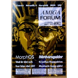 Datablad: Amiga Forum: Nr. 2 - 2012 - September
