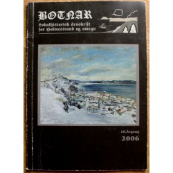Botnar: 16. årgang - 2006 - Lokalhistorisk tidsskrift for Holmestrand og omegn