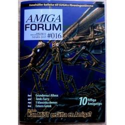 Datablad: Amiga Forum: Nr. 16 - 2016 - Mars