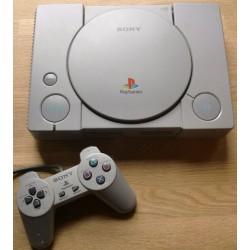 Playstation 1: Komplett konsoll