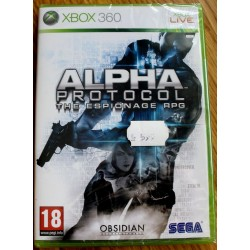 Xbox 360: Alpha Protocol (Obsidian / SEGA)