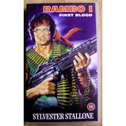 Rambo I: First Blood (VHS)