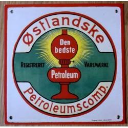 Postkort: Østlandske Petroleumscomp. (Esso)
