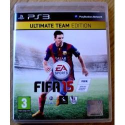 Playstation 3: FIFA 15 - Ultimate Team Edition (EA Sports)