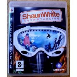Playstation 3: Shaun White Snowboarding (Ubisoft)